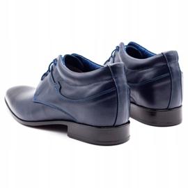 Lukas Men's shoes increasing 300LU navy blue 7