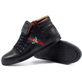 KENT 304V Men's Casual Shoes black 3