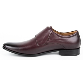 Lukas Leather formal shoes Monki 287LU cherry red 1