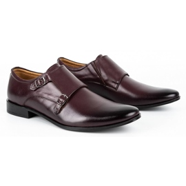 Lukas Leather formal shoes Monki 287LU cherry red 2