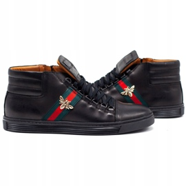 KENT 304V Men's Casual Shoes black 5