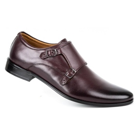 Lukas Leather formal shoes Monki 287LU cherry red 3