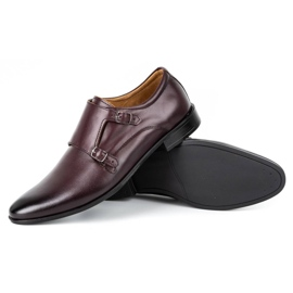 Lukas Leather formal shoes Monki 287LU cherry red 4