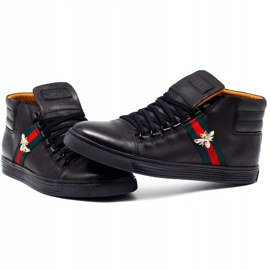 KENT 304V Men's Casual Shoes black 6