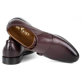 Lukas Leather formal shoes Monki 287LU cherry red 5