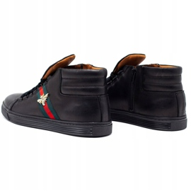 KENT 304V Men's Casual Shoes black 7