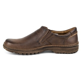 KOMODO Casual men's shoes 869 brown 1