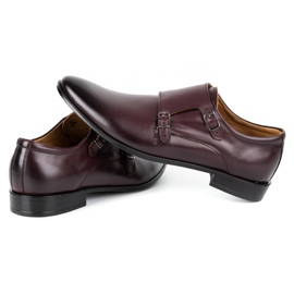 Lukas Leather formal shoes Monki 287LU cherry red 6