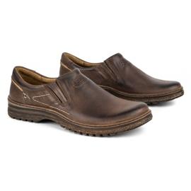 KOMODO Casual men's shoes 869 brown 2