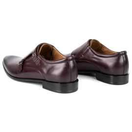 Lukas Leather formal shoes Monki 287LU cherry red 7