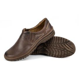 KOMODO Casual men's shoes 869 brown 3