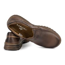 KOMODO Casual men's shoes 869 brown 4
