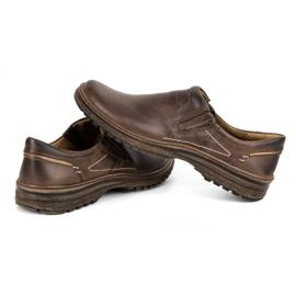 KOMODO Casual men's shoes 869 brown 5
