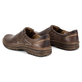 KOMODO Casual men's shoes 869 brown 6
