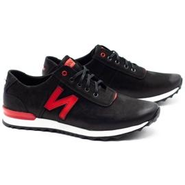 Joker Black casual men's shoes 301J 2