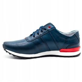 Joker Men's casual shoes 301J navy blue 1