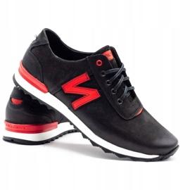 Joker Black casual men's shoes 301J 4