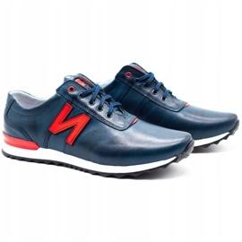 Joker Men's casual shoes 301J navy blue 2