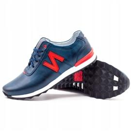 Joker Men's casual shoes 301J navy blue 3