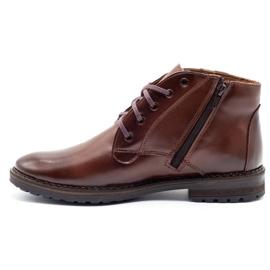 Mario Pala 911MP brown men's winter boots 1