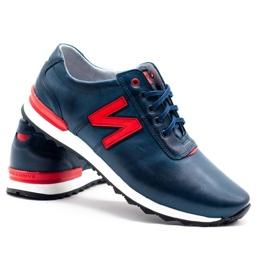 Joker Men's casual shoes 301J navy blue 4