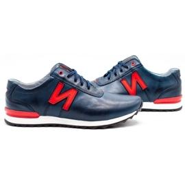 Joker Men's casual shoes 301J navy blue 5