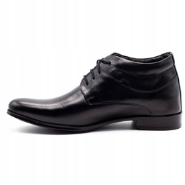 Lukas Black men's shoes increasing 300LU 1