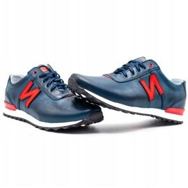 Joker Men's casual shoes 301J navy blue 6