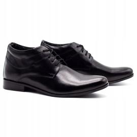 Lukas Black men's shoes increasing 300LU 2