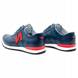Joker Men's casual shoes 301J navy blue 7