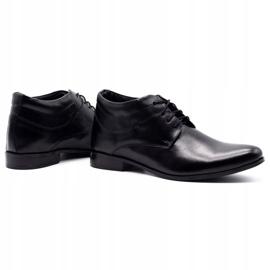 Lukas Black men's shoes increasing 300LU 4
