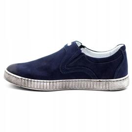 Joker Men's shoes 387V navy blue 1