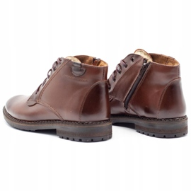 Mario Pala 911MP brown men's winter boots 7
