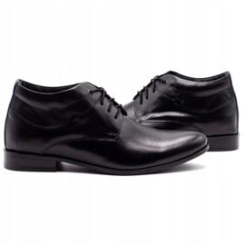 Lukas Black men's shoes increasing 300LU 5
