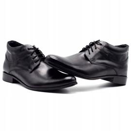 Lukas Black men's shoes increasing 300LU 6