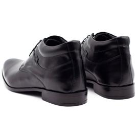 Lukas Black men's shoes increasing 300LU 7
