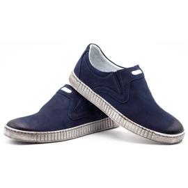Joker Men's shoes 387V navy blue 6
