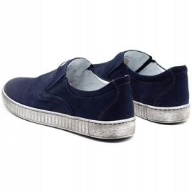 Joker Men's shoes 387V navy blue 7