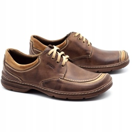 Joker Leather men's shoes 936 brown 2