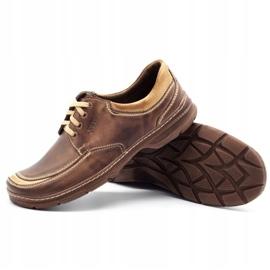 Joker Leather men's shoes 936 brown 3