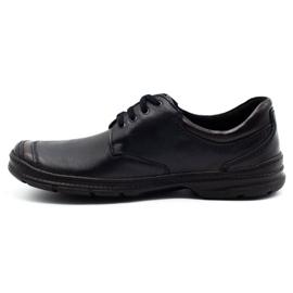 Joker Black men's leather shoes 936 1