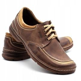 Joker Leather men's shoes 936 brown 4