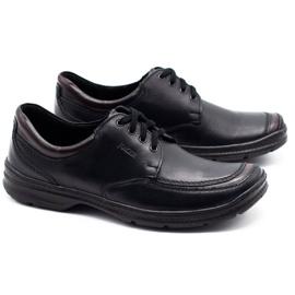 Joker Black men's leather shoes 936 2