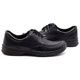 Joker Black men's leather shoes 936 5