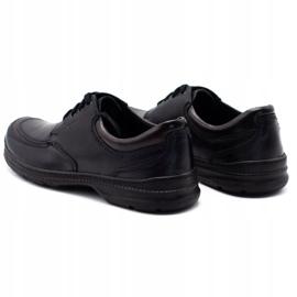 Joker Black men's leather shoes 936 7