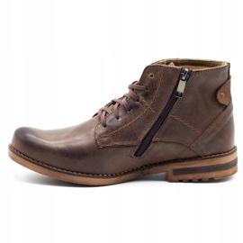 KOMODO Brown men's winter boots 731K 1
