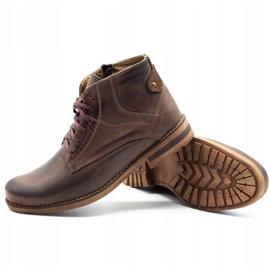 KOMODO Brown men's winter boots 731K 3