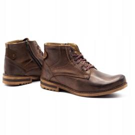 KOMODO Brown men's winter boots 731K 4