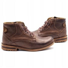 KOMODO Brown men's winter boots 731K 5