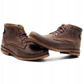 KOMODO Brown men's winter boots 731K 6